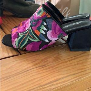 Jeffrey Campbell Shoes - Jeffrey Campbell Floral Embroider Sandal